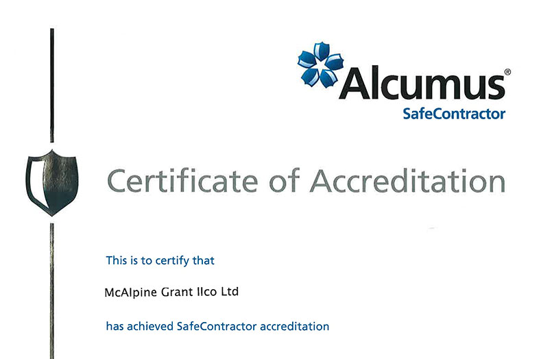 Safe Contractor May 16 - May 2017