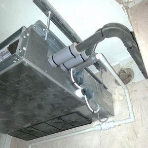 ducted air conditioning unit oxford townhouse