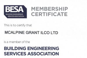 besa membership certificate