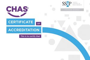 chas certificate of accreditation document