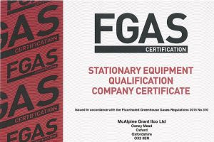 fgas certification image