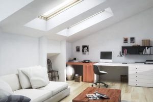 loft conversion room for air conditioning