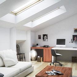 air conditioning unit in loft