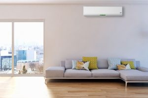 air conditioning units installed in lounge