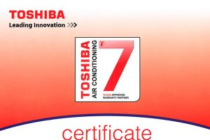 toshiba certificate